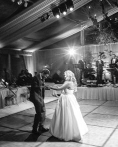 Lizzy and Bucky's Lakeside Michigan Destination Wedding - The First Dance