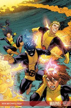 New Mutants Saga, but no Young X-Men...? - The Comic Bloc Forums