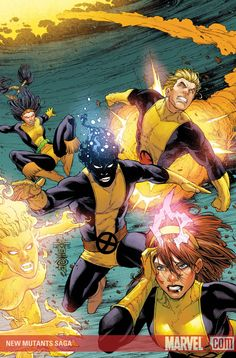 New Mutants Saga, but no Young X-Men...? - The Comic Bloc Forums