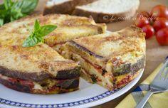 Torta di pane e bufala: che vi devo dire... solo a leggere il nome di questa ricetta mi viene l'acquolina in bocca!