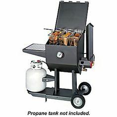 Cajun Fryer by R & V Works 8.5 Gallon Propane Cooker Deep Fryer