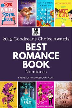 Discover this year's list of best romance book nominees for Goodreads Choice Awards - the book award slected by readers. Nominees span the contemporary romance, historical romance, paranormal romance, and gay romance genres. Good Romance Books, Historical Romance Books, Romance Authors, Best Books To Read, I Love Books, Good Books, Ya Books, Book Club Books, Book Lists