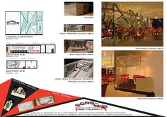 ID Project2_Porsche Restaurant Presentation Board on Behance
