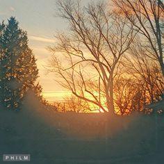 """ Winter Sunset 2017""@ Ohio Valley Appalachian Living!"