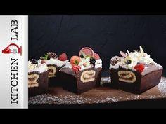 Γεμιστό κέικ βανίλια σοκολάτα   Άκης Πετρετζίκης