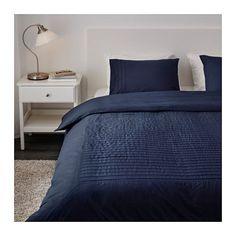 ALVINE STRÅ Duvet cover and pillowcase(s), blue blue Full/Queen (Double/Queen)