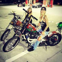 best ideas for bobber motorcycle girl style Lady Biker, Biker Girl, Chicks On Bikes, Motos Harley Davidson, Harley Bikes, Bobber Motorcycle, Hot Bikes, Biker Chick, Up Girl