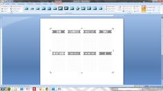 using multi image png files in Word