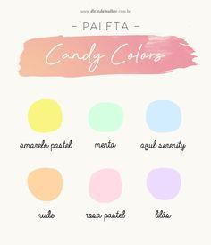 Pastel Colour Palette, Colour Pallete, Colour Schemes, Pastel Colors, Colorful Candy, Candy Colors, Pantone Color Chart, Candy Logo, Pastel Outfit