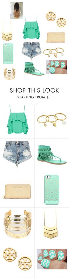"""ready for summer"" by oliviaonfleek on Polyvore featuring Apiece Apart, Rebecca Minkoff, One Teaspoon, Coconuts, Michael Kors, Casetify, WithChic and Tory Burch"