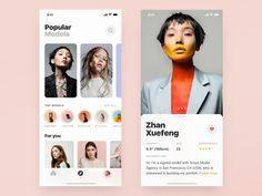 by Daniel Klopper Web Design, App Ui Design, User Interface Design, Flat Design, Design Layouts, Graphic Design, Ui Design Mobile, Profile Design, Profile View