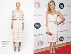 Brittany Snow In Jonathan Simkhai – Ladygunn #11 Launch Party
