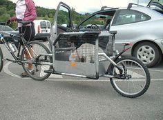 Motorcycle Trailer, Bike Trailers, Rando Velo, Eletric Bike, Commuter Bike, Cargo Bike, Bike Rack, Sidecar, Cool Bikes