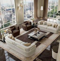 100 Luxury Living Room Ideas_66