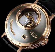cae9a70fc6e Thomas Prescher Nemo Captain Triple Axis Tourbillon Watch Tourbillon Watch