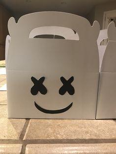 DJ Marshmello treat boxes