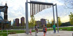 Urban park along rivers edge - Google Search Cincinnati Parks, Walk Run, Urban Park, Event Organiser, Event Calendar, Public Art, Pathways, Corporate Events, Rivers