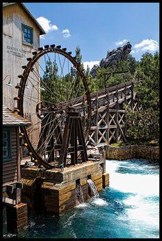 Grizzly River Run at Disney's California Adventure
