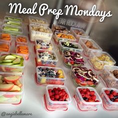 Meal Prep Mondays | Angie Bellemare