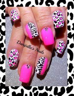 #animalprint Cheetahprint #leopardprint #zebraprint #nailart #nailartdesigns #nails