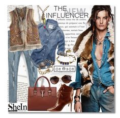 """""""Ripped Skinny Jeans Indian Theme"""" by gorgeautiful ❤ liked on Polyvore featuring Murphy, Abercrombie & Fitch, Calypso St. Barth, Alexandre Birman, women's clothing, women's fashion, women, female, woman and misses"""
