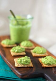 Green Pea Hummus | A Cup of Jo
