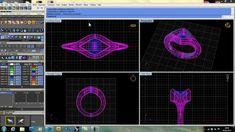 Using Gemvision Matrix's Custom Ring Rail Builder to Make a Split Ring S...