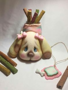 Biscuit, Small Room Design, Pasta Flexible, Cold Porcelain, Clay Art, Kawaii, Polymer Clay, Polymers, Christmas Ornaments