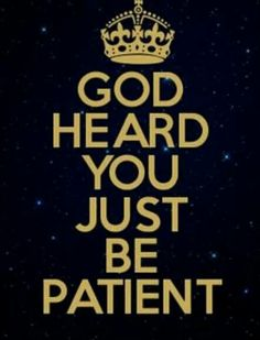 "It is hard to be patient and wait on His time, but He knows what He's doing ... ""For I know the plans I have for you,"" declares the Lord. ""Plans to prosper you and not to harm you, plans to give you hope and a future."" ~ Jeremiah 29:11"