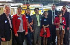 Journalists from Republic of Georgia visit Detroit #journalism #partnerships