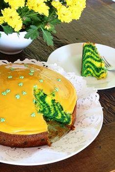 Bolo verde e amarelo ou Bolo vai Brasil! - Blog de decoração - Casa de Firulas