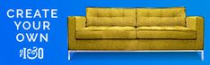 The perfect height for floating in the middle of your living room up against the wall, it just might be the perfect piece for open-concept layouts. Tufting Buttons, Open Concept, Feng Shui, Angles, Punch, Layouts, Flow, Create Your Own, Mid Century