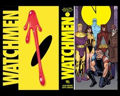 The 30 Comic Books You Should Have Read | Watchmen |By: Alan Moore, Dave Gibbons | A gang of costumed but (with one exception) not superpowered vigilantes investigate the death of an old comrade and discover a strange and far-reaching plot. If you only ever read one graphic novel, this is almost certainly the one you'll read.