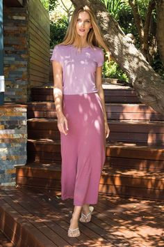 Weekend Skirt, Crushed berry