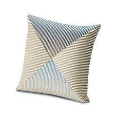 Discover the Missoni Home Oleg Patchwork Cushion - 100 - 40x40cm at Amara