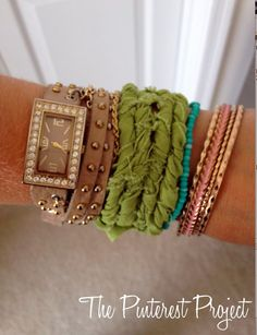The Pinterest Project: Rope Bracelet