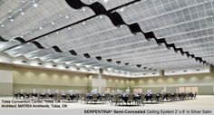 Serpentina Semi-Concealed Ceiling System by Armstrong