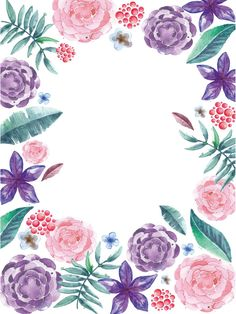 It's Spring Time! Get inspired with our floral and leaf album and create your own bespoke rug! Cute Wallpapers, Wallpaper Backgrounds, Iphone Wallpaper, Watercolor Flowers, Watercolor Paintings, Floral Paintings, Watercolour, Goodnotes 4, Deco Floral