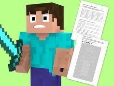 minecraft_zadania dla dzieci