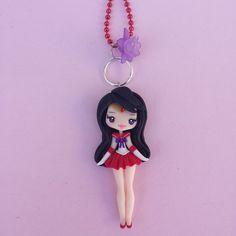 Sailormoon mars collier en fimo argile polymère par Artmary2                                                                                                                                                      Plus