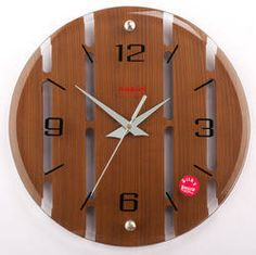 fancy clock | Wood Regular Wall Clock