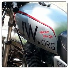 A Motorcycle at a Regional Convention in Duisburg, Germany. @miriam_olivia_ & @jw-archive.org