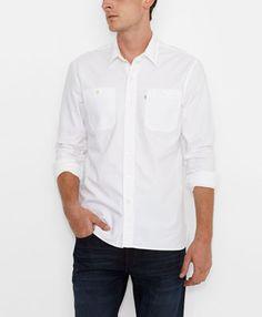 Stock Workshirt - White - Levi's - levi.com