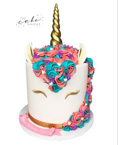 Rainbow Unicorn Cake perfect for any birthday celebration! Call or email to order your celebration cake today! Click visit to learn more! Celebration Cakes, Birthday Celebration, Birthday Parties, Rainbow Birthday, Birthday Cake, Cakes Today, Cupcake Wars, Rainbow Unicorn, Custom Cakes