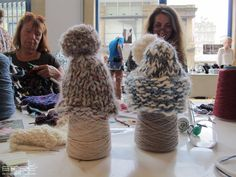 More cute baby hats knitted at Edinburgh International Fashion Festival @ City Art Centre 2013