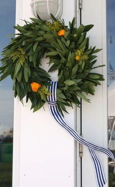 Spring Door Decor - Preppy Empty Nester F