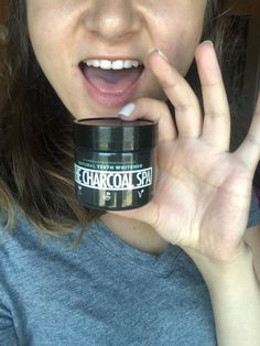 Whiten your teeth the natural way with 100% natural activated coconut charcoal teeth whitening powder from The Charcoal Spa! Great for sensitive teeth and easy on the gums! Made in the US, no chemicals, no bleach, cruelty-free, vegan and non-GMO! There is NO taste at all, and it only takes 2 minutes for a whiter smile. People typically see results after 14 days! Activated Charcoal Teeth Whitening, Natural Charcoal, White Smile, White Tees, Cruelty Free, Bleach, Powder, Spa, Coconut