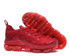 9cec4716094a Spring Summer 2018 Really Cheap Men Nike Air Vapormax Plus Shoes 2018 Tn  All University Red Shoe