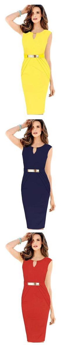 Nos encanta este #vestido súper elegante que te ayuda a lucir una figura esplendida. ¿Qué color prefieres? Encuentralo en nuestro sitio.