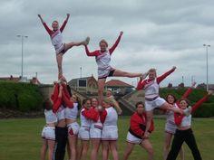 Cheer Stunts and Pyramids | Cheer Pyramid Stunts